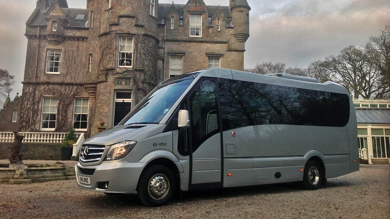 Luxury Mercedes Benz 33 Seater Coach